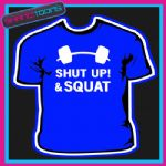 BODYBUILDER WEIGHTLIFTER GYM BOXER MUSCLES FIGHTER FUNNY SLOGAN TSHIRT